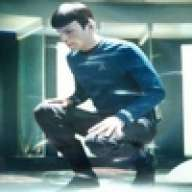 Why Are You Crouching Spock?